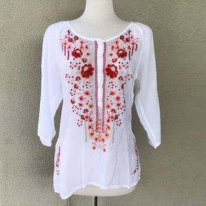 Johnny Was Olivia Blouse NWT